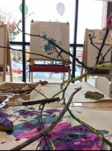 Asheville, NC Kids Garden: Crafts