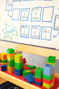 Lego fun Friday at Kids Garden